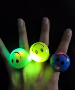 22- Anillos smile  luminosos x 10