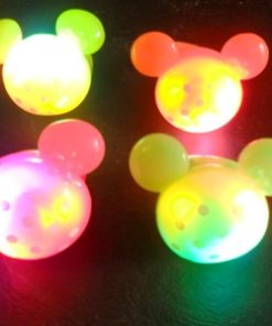 19- Anillo luminoso  mickey x 10