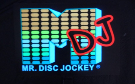 "602- Panel audioritmico ""MR DJ"" - pilas incluidas"