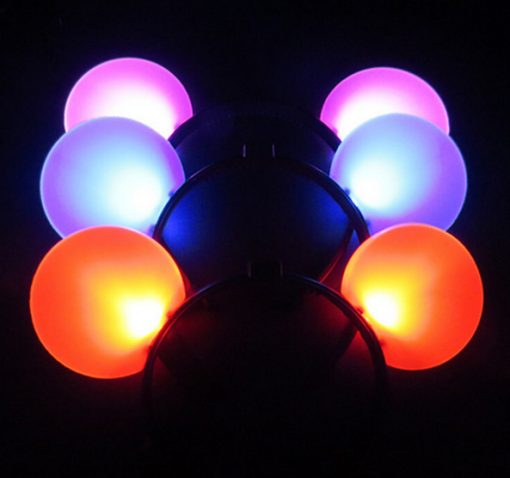 735- Vincha mickey led grande x12