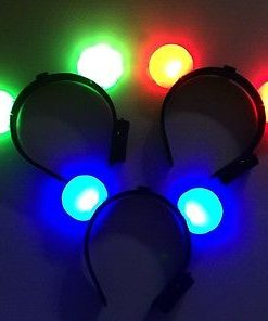 704- Vincha mickey luminosa led x 1