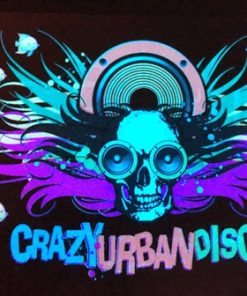 871- Panel crazy urban disco - Pilas incluidas