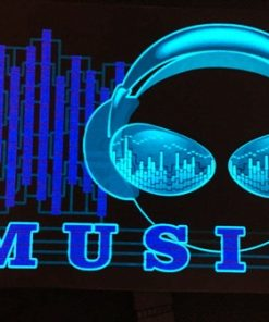 "711- Panel audioritmico ""music""- Pilas incluidas"