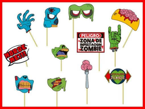 918-  Props zombies x12