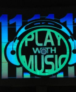 524- Panel play with music x 1	-Pilas incluidas