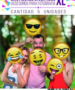 1004-props emoticon divertido XL x 5