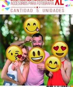 1005-props emoticon romantico XL x 5