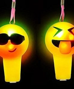 1038-silbato emoticon luminoso x 12